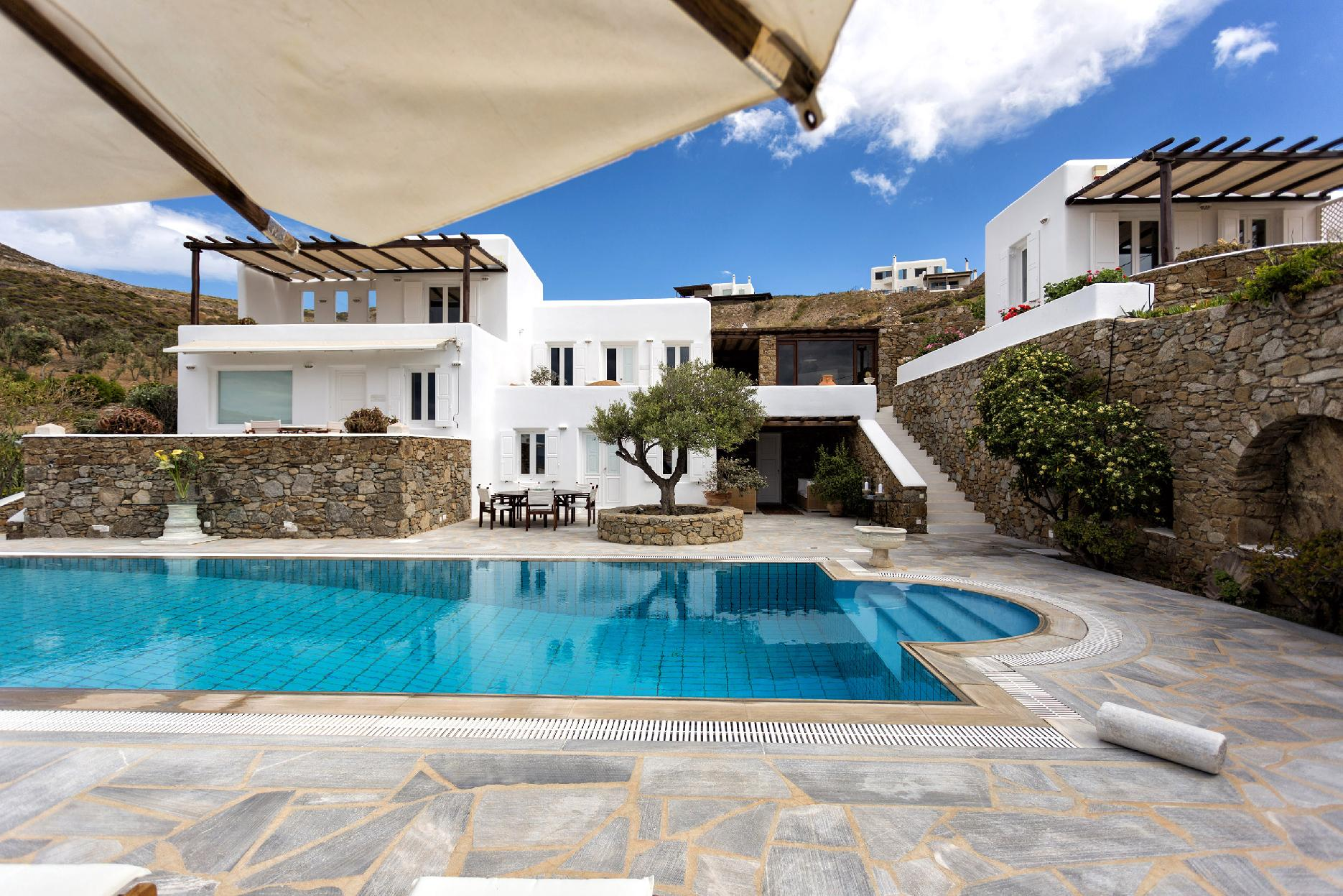 Apartment The Galaxy Mykonos villa with large pool and yoga platform photo 6005334