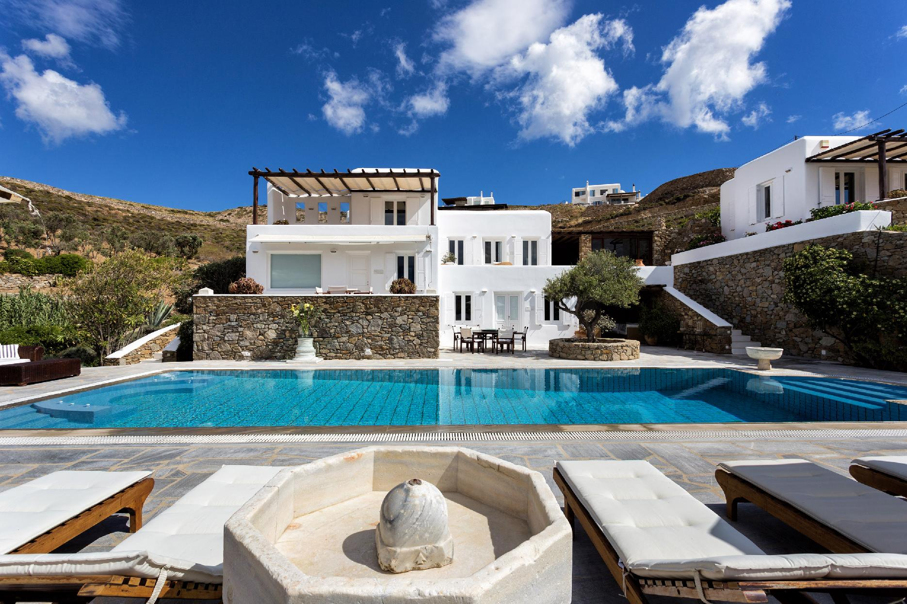 Apartment The Galaxy Mykonos villa with large pool and yoga platform photo 6005333