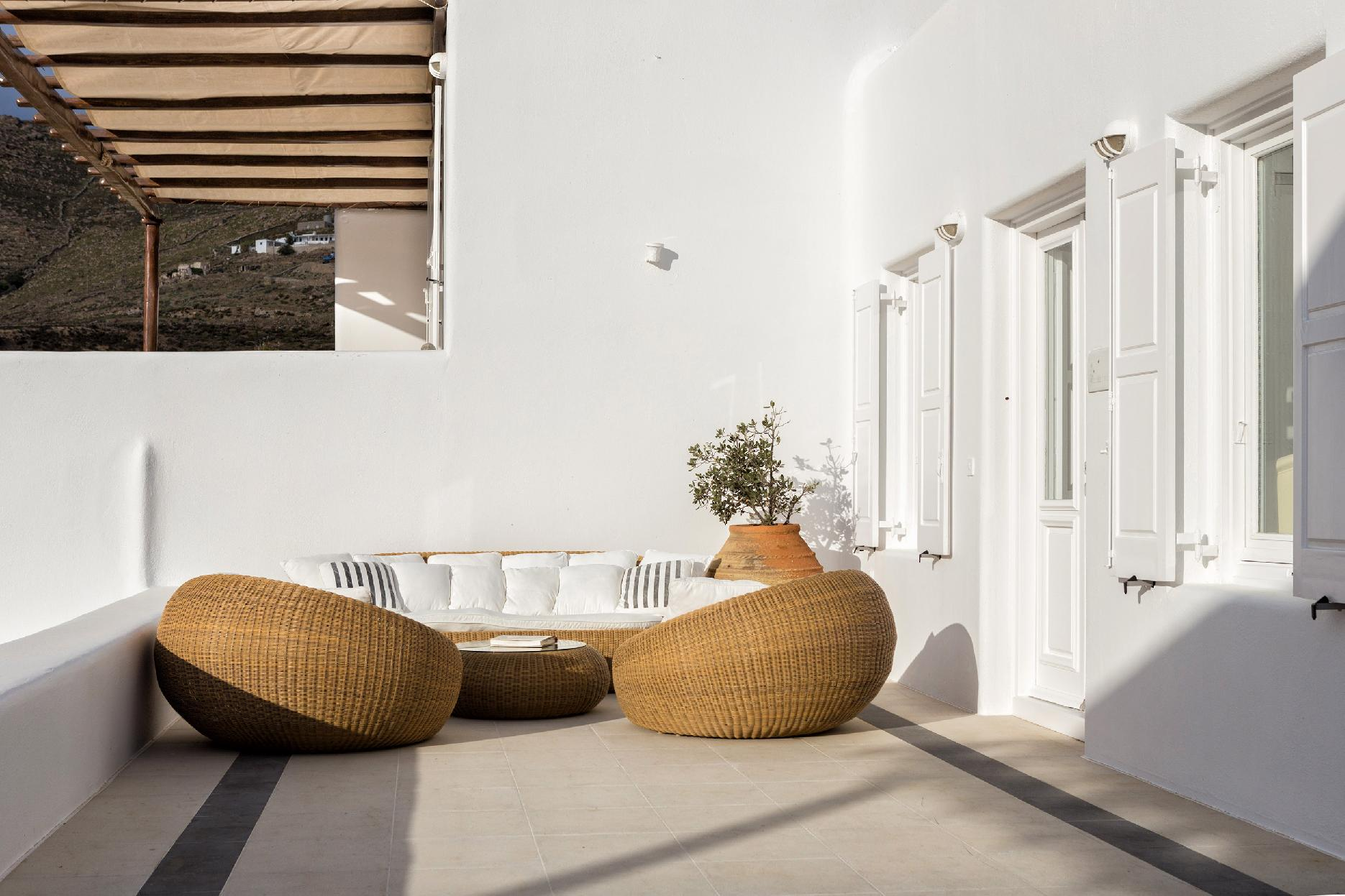 Apartment The Galaxy Mykonos villa with large pool and yoga platform photo 6005331