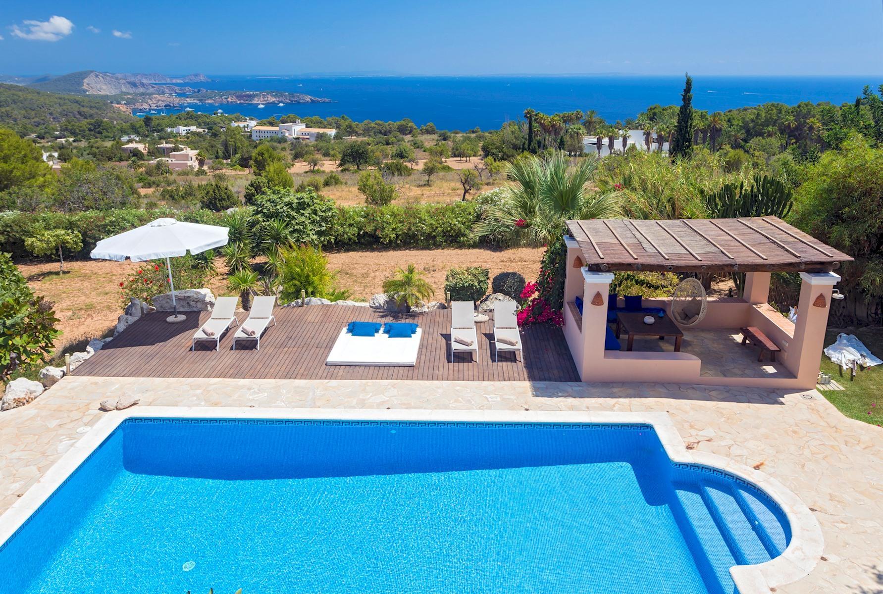Villa Cas Berris. Lujo y Vista mar en Es Cubells photo 17812528