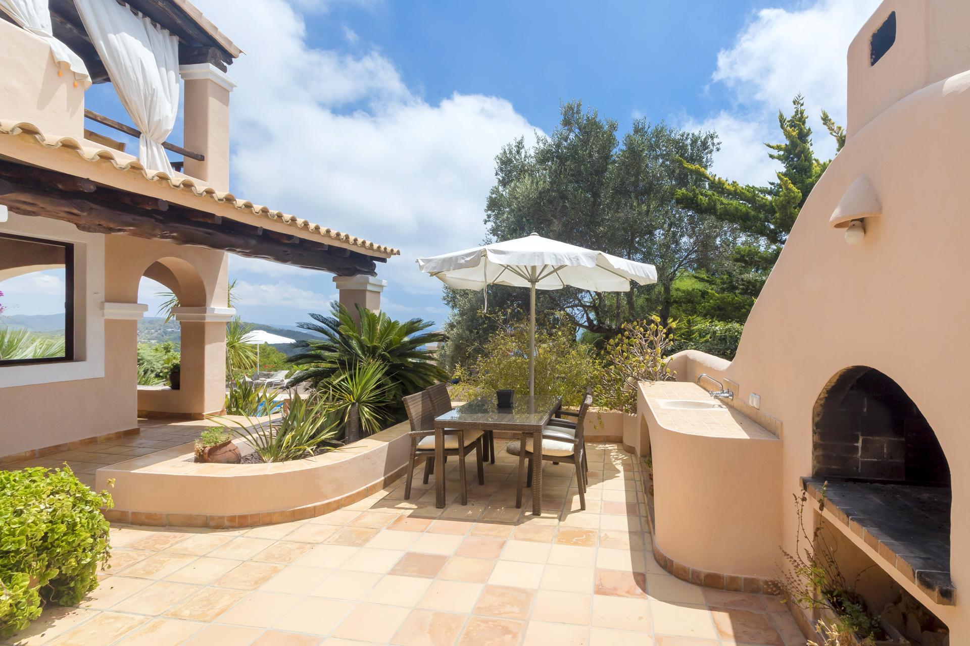 Apartment Villa Cas Berris  Lujo y Vista mar en Es Cubells photo 17644627