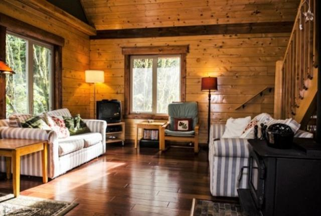 Mt. Baker Lodging Cabin #21 – REAL LOG CABIN, BBQ, PETS OK, SLEEPS-6! photo 59551