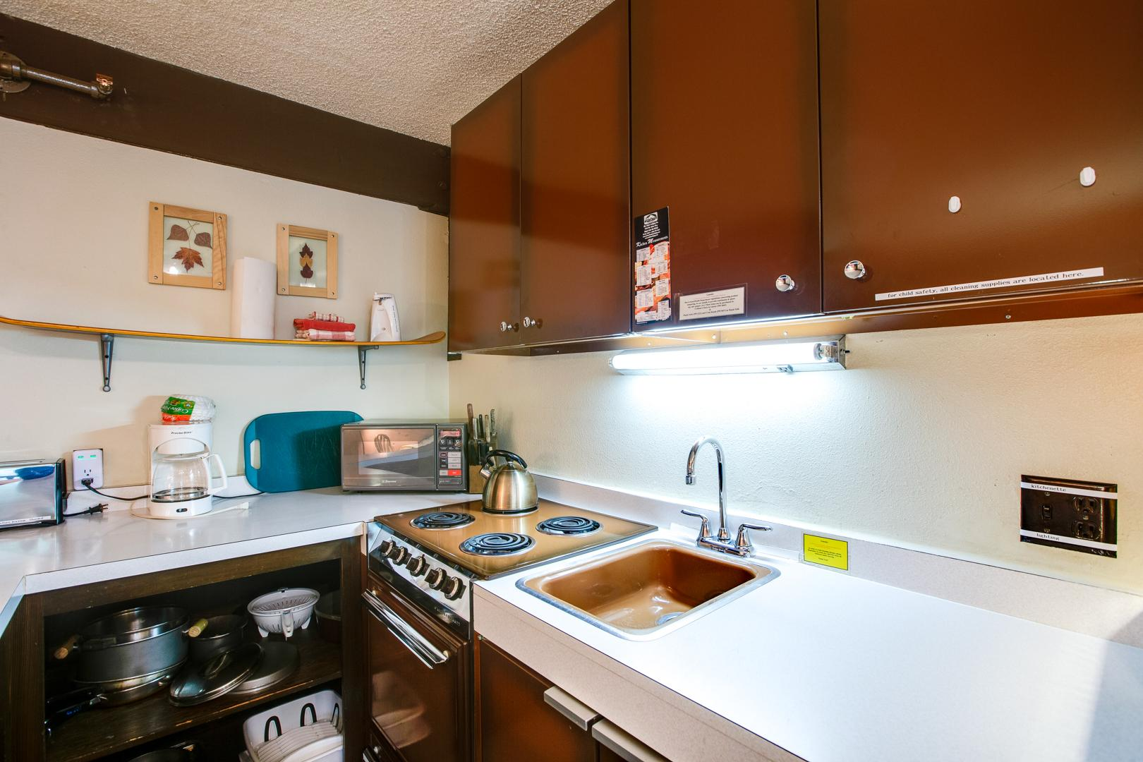Mt. Baker Lodging Condo #46 – CONVENIENT, ECONOMICAL, KITCHENETTE, SLEEPS-2! photo 31816901